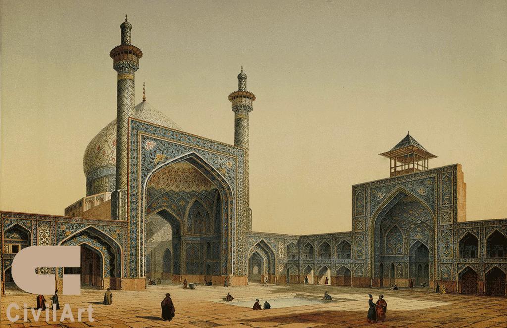 هندسه تناسب در معماری ایرانی