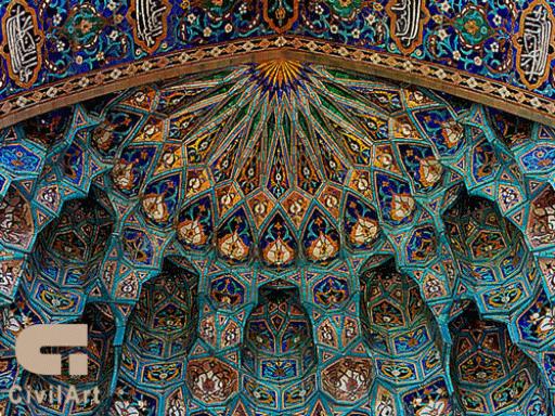 کاشی-در-معماری-اسلامی